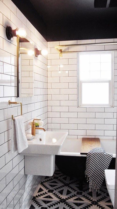 34 bathrooms with white subway tile ideas and pictures 2020