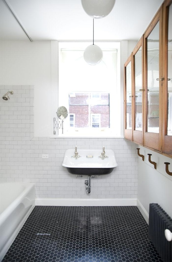 Look At The Black And White Bathroom Floor Tile Ideas That We Ve