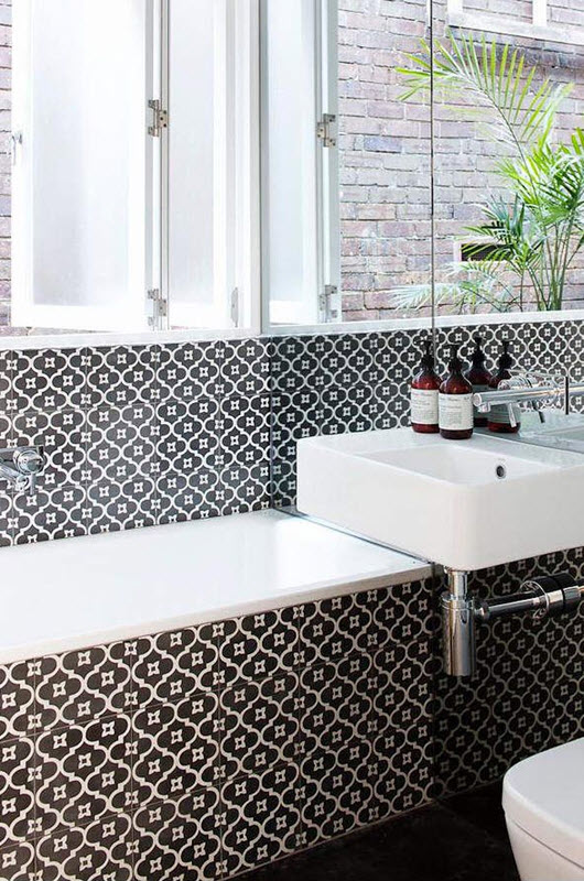 black and white bathroom tile 30 black and white bathroom tiles in a small bathroom 31615