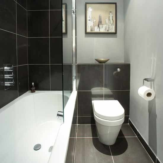 Bathroom Tiles Black And White 30 black and white bathroom wall tile designs ideas and pictures