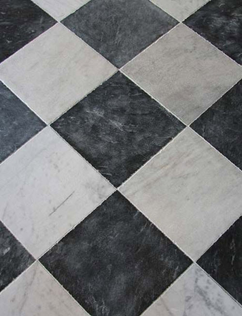 Black And White Marble Bathroom Floor Tiles 35 1 2