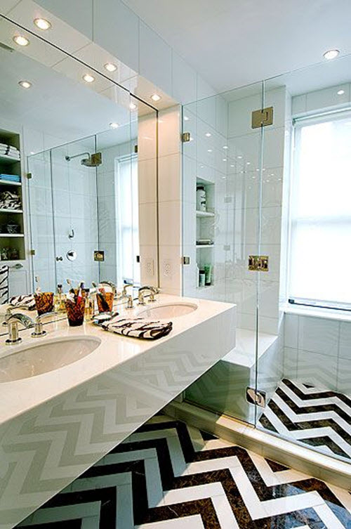 31 black and white marble bathroom tiles ideas and ...
