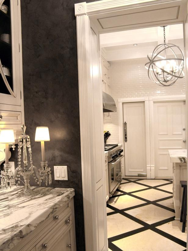 Unique 35 Black And White Marble Bathroom Floor Tiles Ideas Pictures