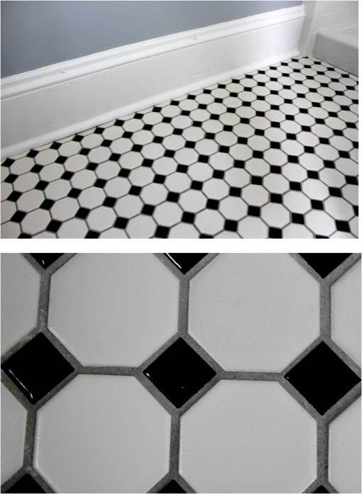 Tile White Ceramic Bathroom Wall Tiles Black Bathroom Floor Tile