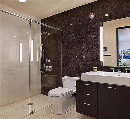 black sparkle bathroom tiles 29 black bathroom tiles with glitter ideas and pictures 17418