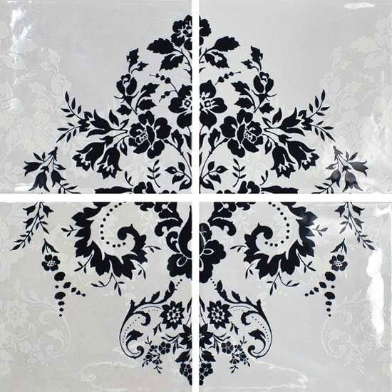 black_damask_bathroom_tiles_8