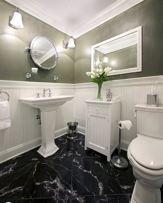 30 black marble bathroom tiles ideas and pictures 2019