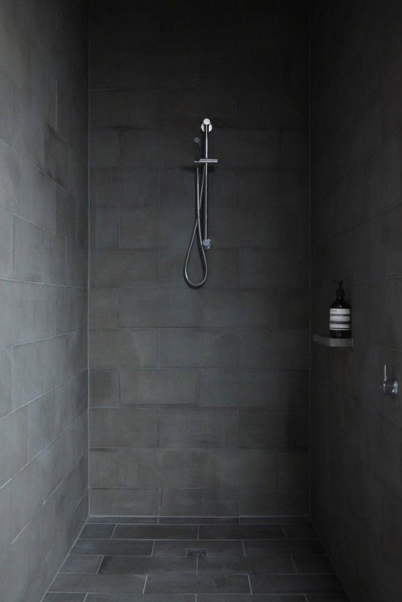 Luxury 40 Black Slate Bathroom Tile Ideas And Pictures