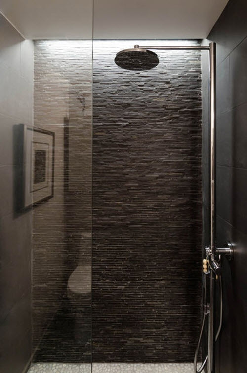 black slate tile bathroom 40 black slate bathroom tile ideas and pictures 17417