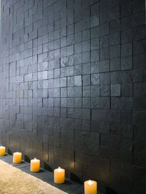 35 Black Slate Bathroom Wall Tiles Ideas And Pictures 2019