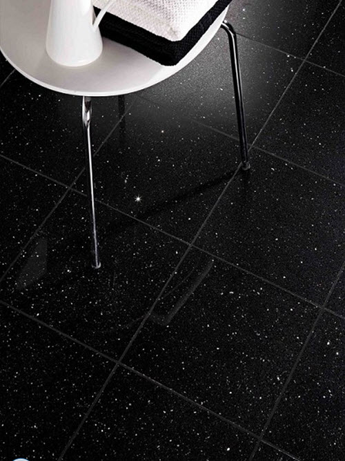 23 Black Sparkle Bathroom Floor Tiles Ideas And Pictures