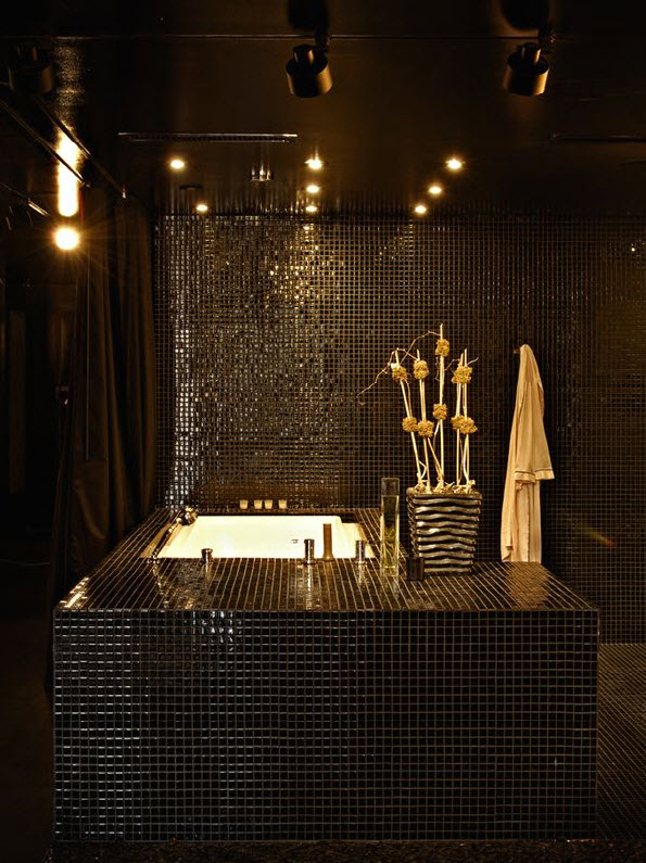 26 Black Sparkle Bathroom Tiles Ideas And Pictures 2019