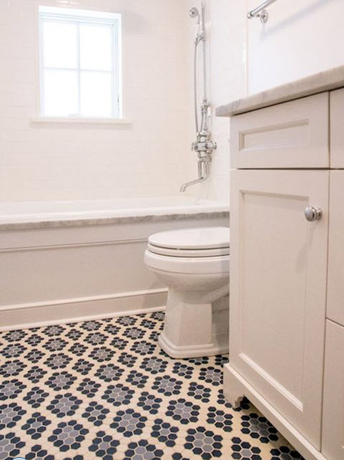 Wonderful Techniques To Use Blue Color In Bathroom Tile Design In Bathroom Tile
