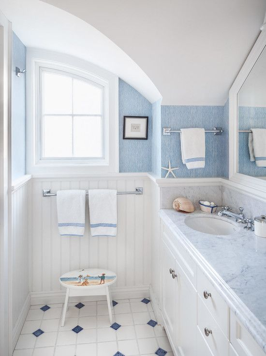 white and blue bathroom 36 blue and white bathroom tile ideas and pictures 21385