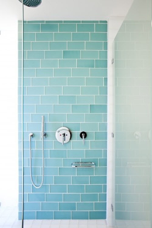Lastest Blue White Mini Bathroom Tiles Gold And Blue Bathroom Design