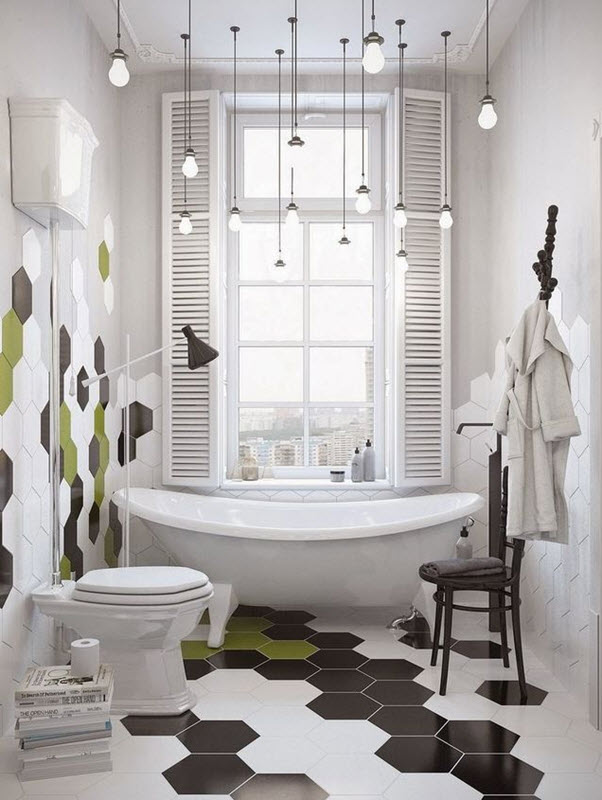 Unique White And Brown Bathroom  Contemporary  Bathroom  Toronto Interior