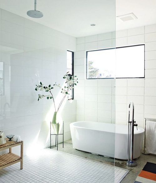 Large White Bathroom Tiles 22 23 25 26 27