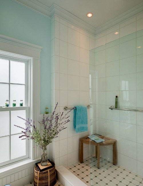 New 24 Large White Bathroom Tiles Ideas And Pictures