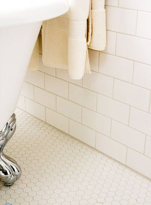 Innovative 35 Plain White Bathroom Wall Tiles Ideas And Pictures