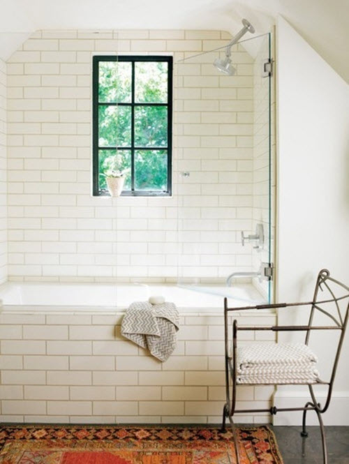 Perfect Plain White Bath Tile  Fuda Tile