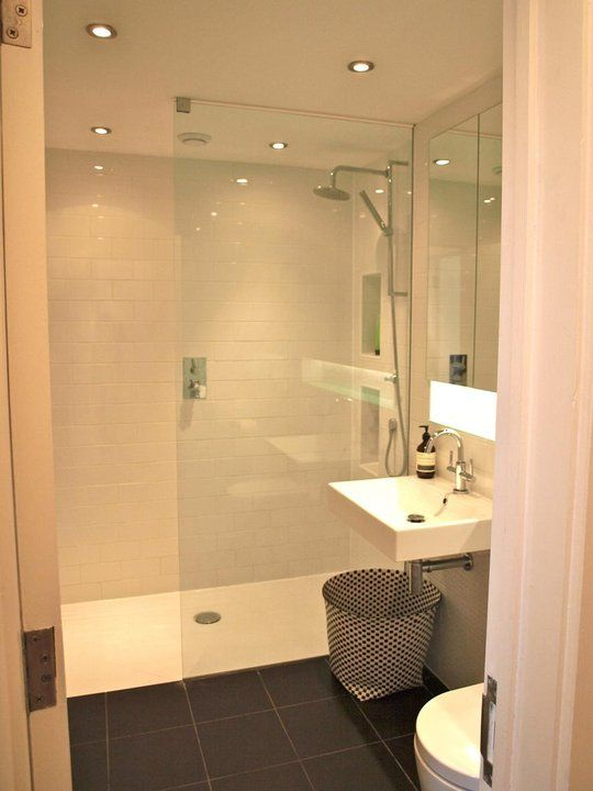 35 plain white bathroom wall tiles ideas and pictures for Open shower bathroom