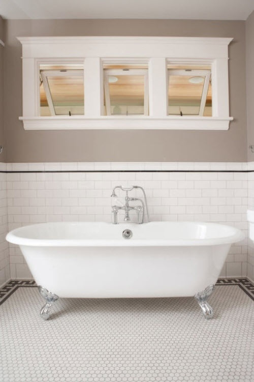 35 plain white bathroom wall tiles ideas and pictures 2019