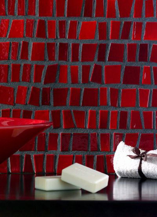 Bathroom Tiles Red 39 red bathroom tile ideas and pictures