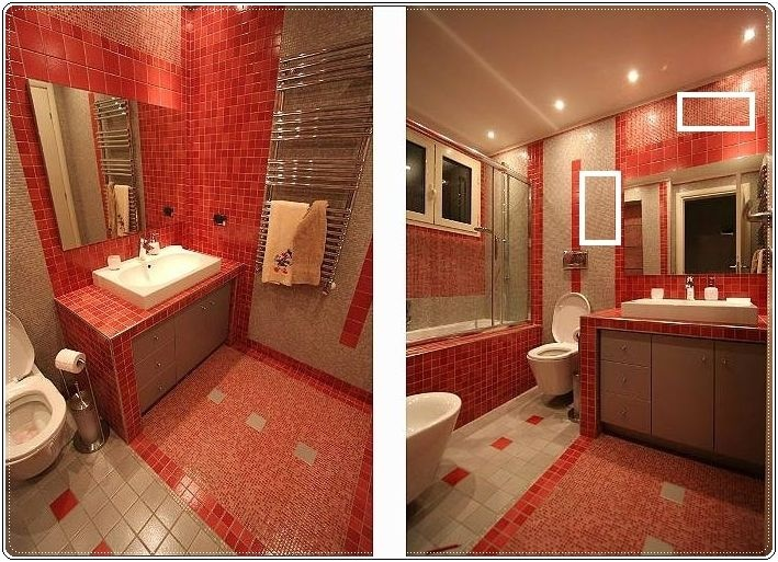 Bathroom Tiles Red bathroom tiles red intended inspiration decorating