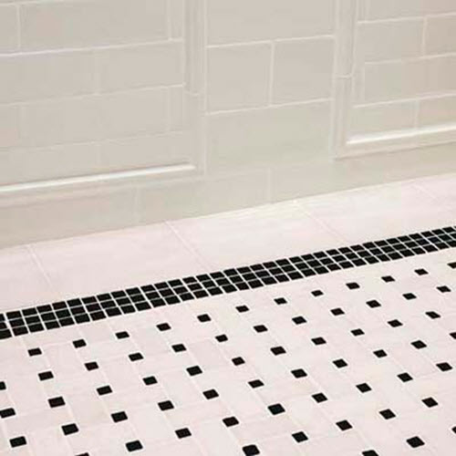black and white floor tile. Retro Black White Bathroom Floor Tile 6  7 8 31 Ideas And Pictures