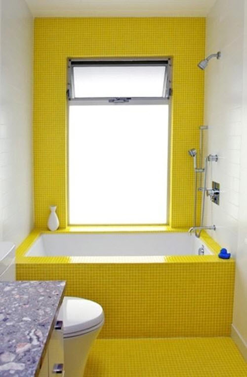 34 retro yellow bathroom tile ideas and pictures 33 vintage yellow bathroom tile ideas and pictures