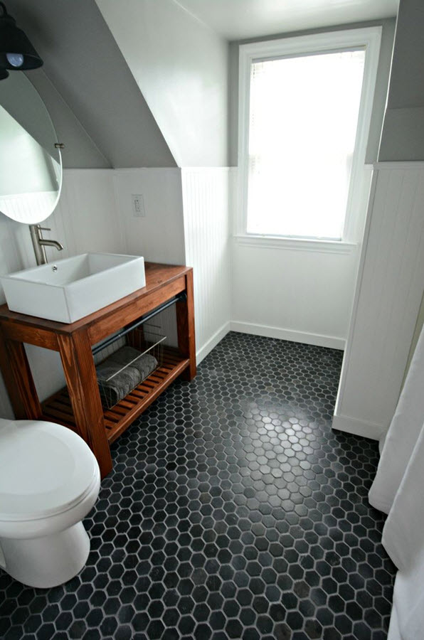 black white ideas bathroom and small pictures tiles tile floors floor
