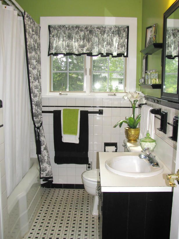 30 small black and white bathroom tiles ideas and pictures ...