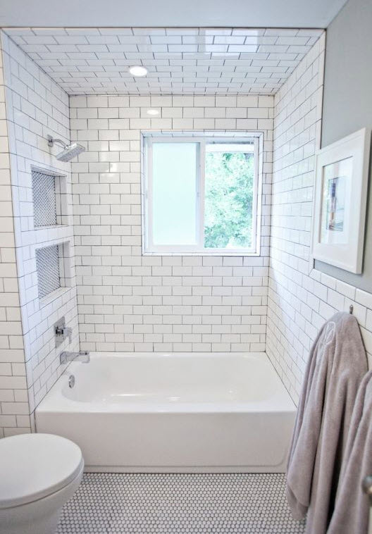 35 small white bathroom tiles ideas and pictures 2020