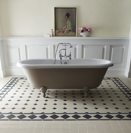 Merveilleux Victorian_black_and_white_bathroom_floor_tiles_9.  Victorian_black_and_white_bathroom_floor_tiles_10
