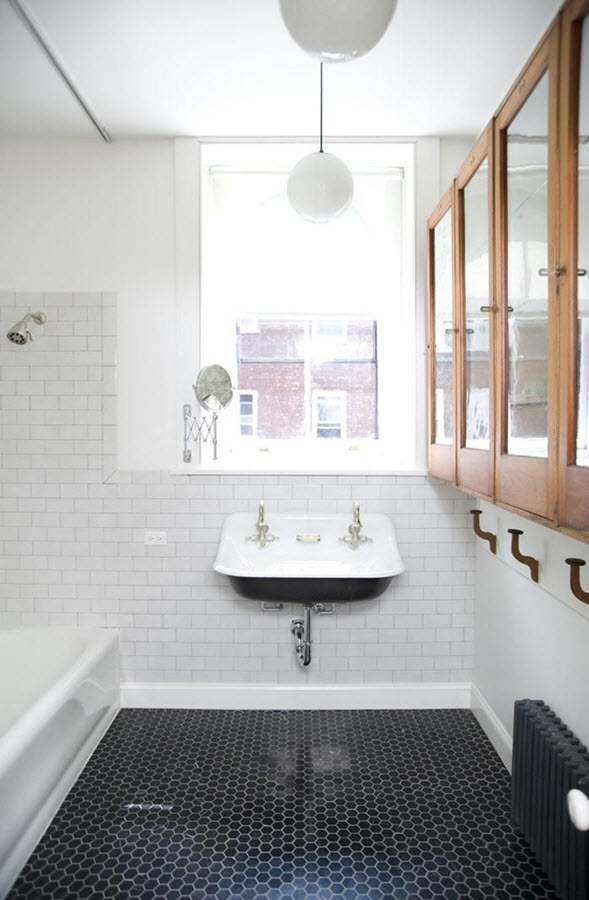 Fantastic Beautiful Wall Tiles For Black And White Bathroom  York By NovaBell