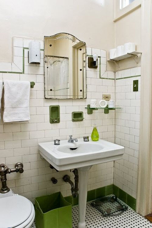 vintage subway tile bathroom 35 vintage black and white bathroom tile ideas and pictures 21248