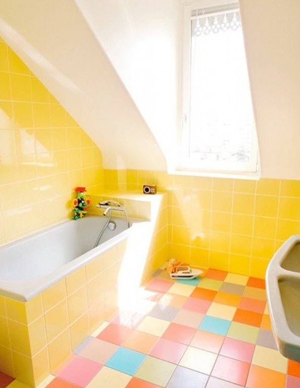 Vintage_yellow_bathroom_tile_9. Vintage_yellow_bathroom_tile_10