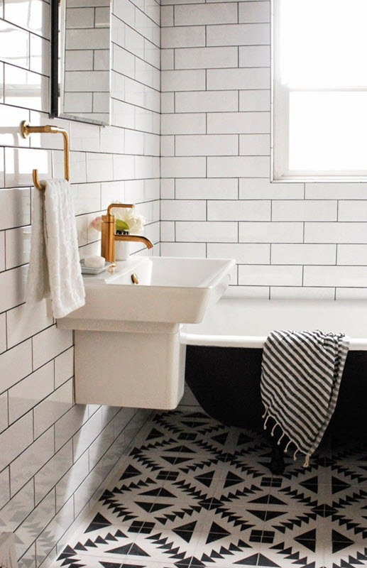 35 white bathroom tile ideas and pictures 2020
