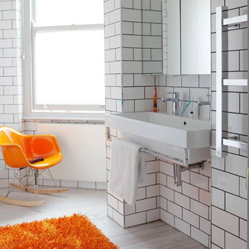 26 White Bathroom Tile With Grey Grout Ideas And Pictures 2019