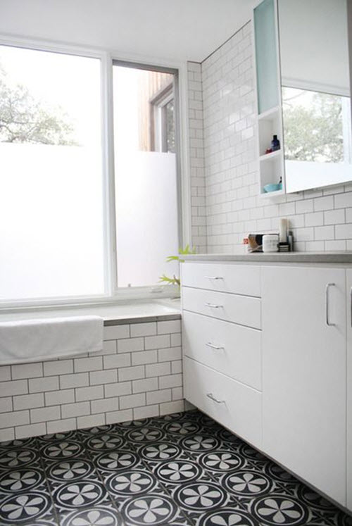 white_bathroom_tile_with_grey_grout_36