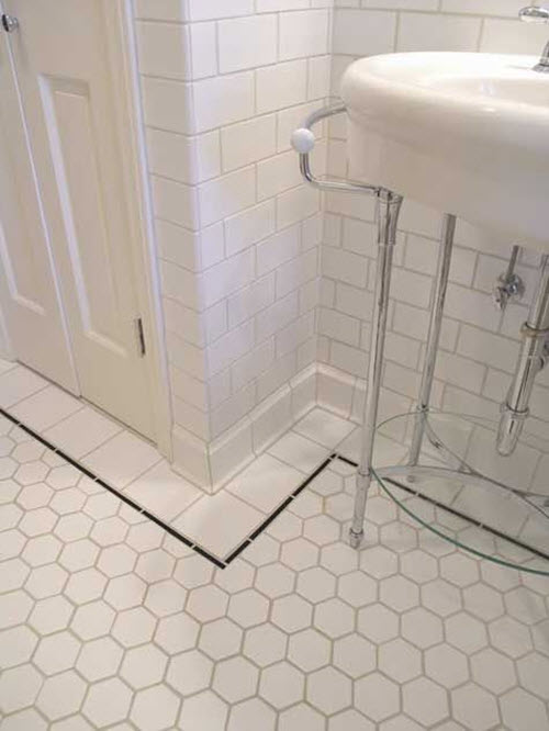 Bathroom Tiles Borders Ideas With Innovative Style In
