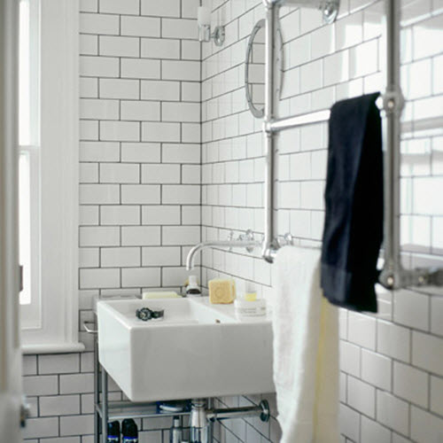 Perfect IN The 1920s, 30s And 40s, Welldressed Bathroom Floors Were Usually Outfitted With Tiny White Hexagonal Tiles The Look Was Hopelessly Out Of Style By The 1950s But In Recent Years Demand For White Ceramic &quothexies&quot Has Revived Floors
