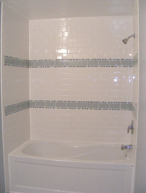 15 White Ceramic Bathroom Wall Tiles Ideas And Pictures