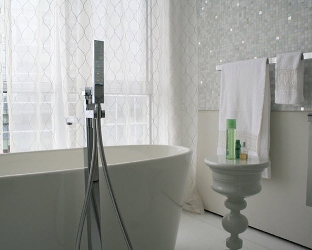 Cool White Sparkle Bathroom Floor Tiles Are Numerous  You Have Something