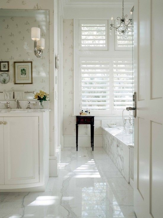 15 White Gloss Bathroom Floor Tiles Ideas And Pictures 2019