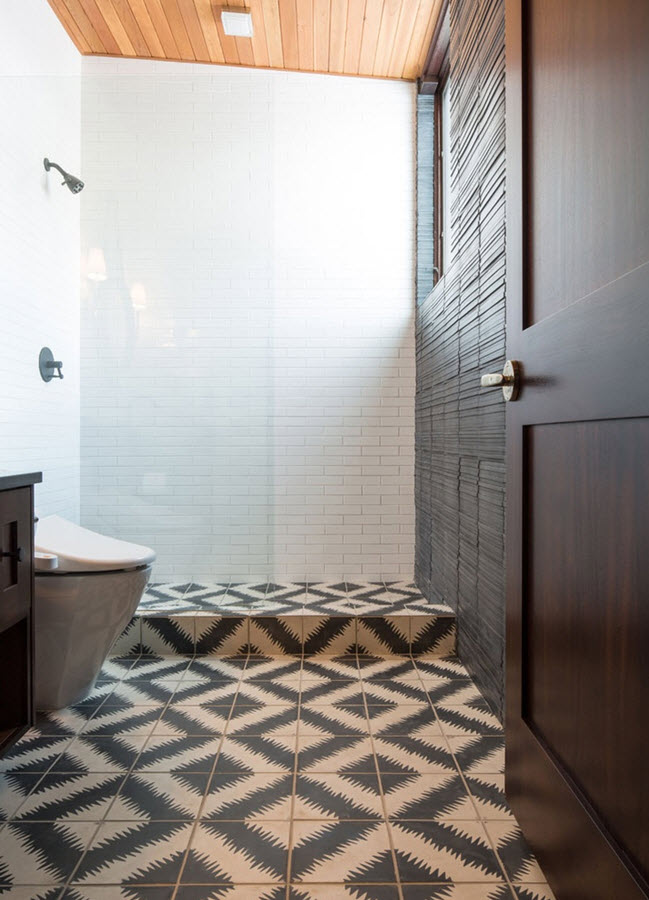 Fantastic Matte And Gloss Tiles  Houzz
