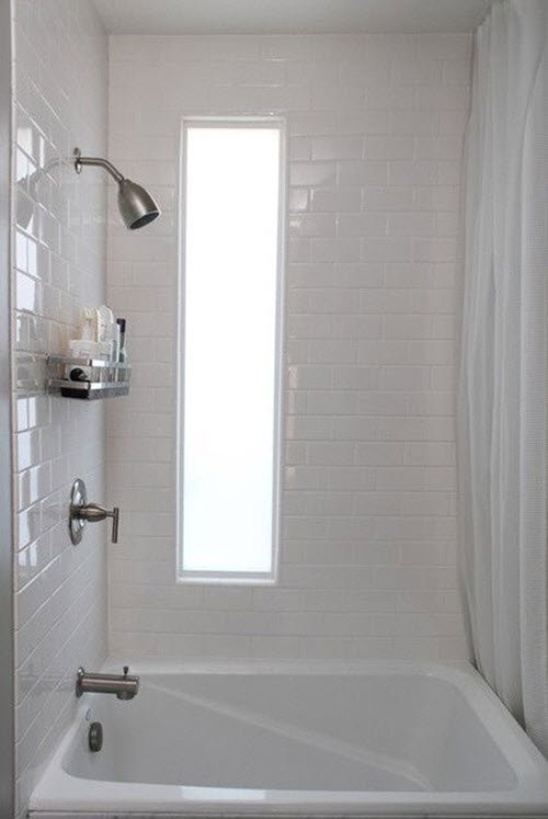 29 White Gloss Bathroom Tiles Ideas And Pictures 2019