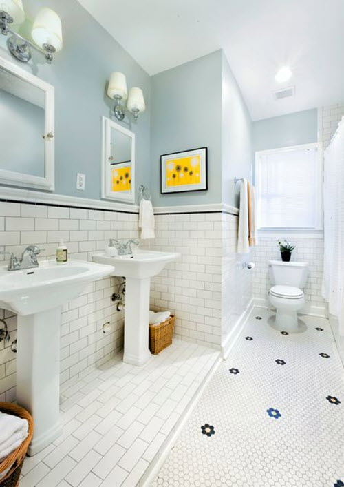 white_hexagon_bathroom_floor_tile_31