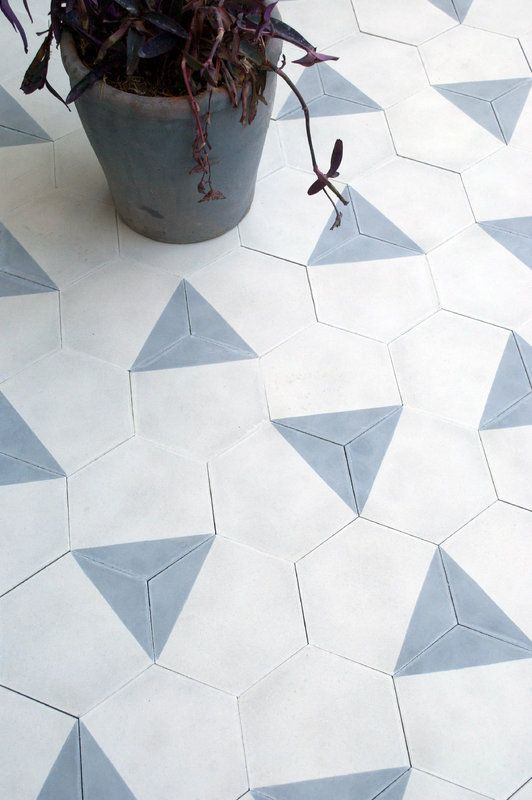 white_hexagon_bathroom_floor_tile_9
