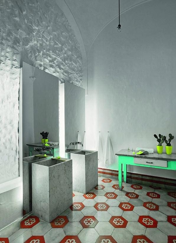 white_hexagon_bathroom_tile_19